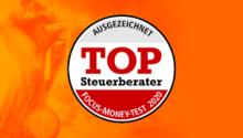 Focus Money zeichnet uns mit Top-Steuerberater-Siegel 2020 aus